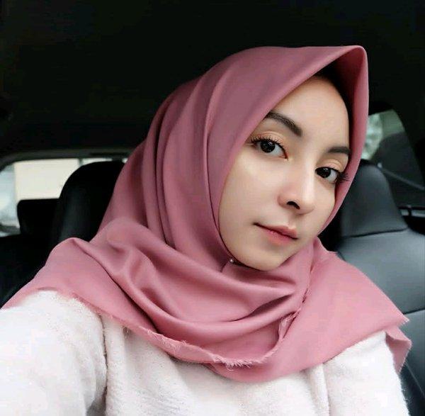 Gambar Untuk Jilbab Saudia Kerudung Hijab Segiempat Rawis