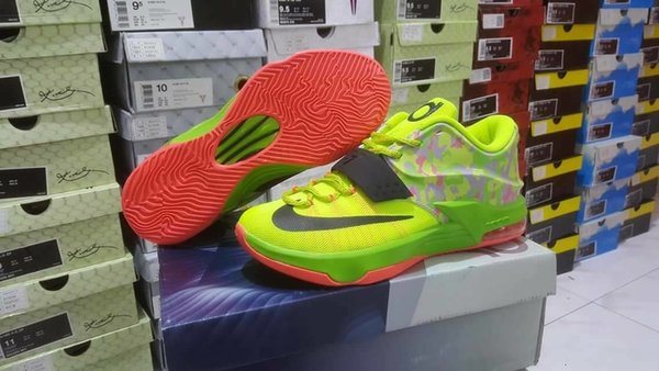5e7cacb3af ... top quality new sepatu basket nike kd 7 low easter 5106a 84766