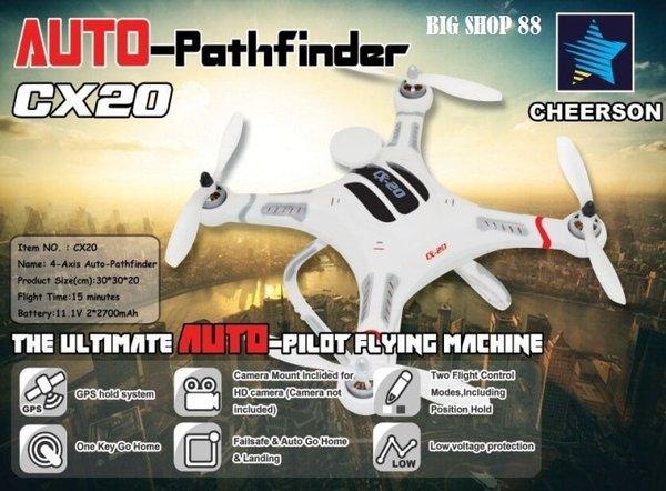 Murah Drone CHEERSON CX 20 GPS
