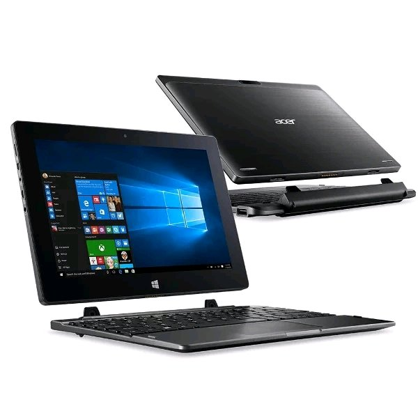 Acer Switch One 10 inch HD IPS Touchscreen 2-in-1 Laptop To Tablet Windows 10 Home 64 bit - RAM 2GB - eMMc 32GB - HDD 500GB - Intel Atom x5-Z8350