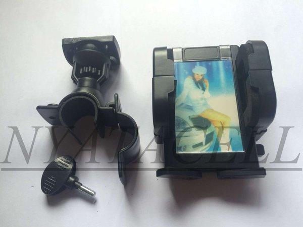 Universal Holder Hp Motor Di Stang /Dudukan/Sepeda/Android/Gadget Murah