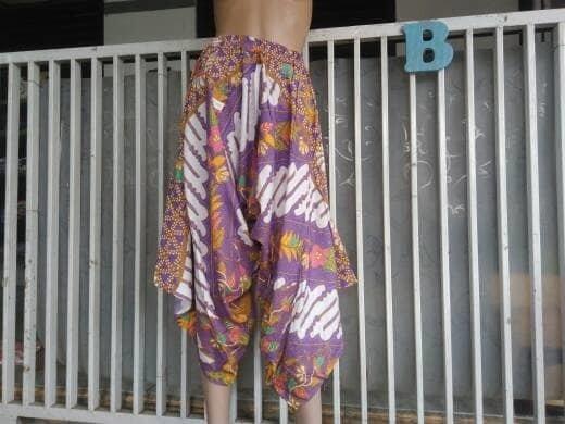 NEW celana kulot batik merk hap model geet
