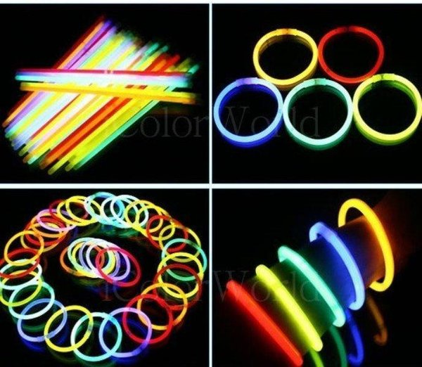 Glow Stick Fosfor Light  gelang menyala isi 50 pcs