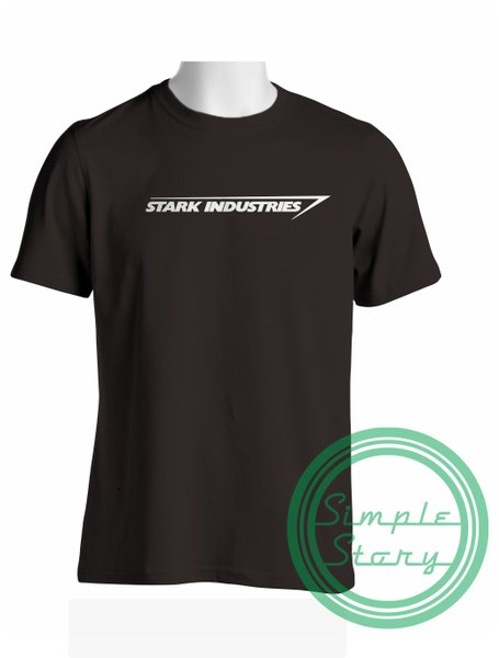Kaos Distro Iron Man Stark Industries Gildan
