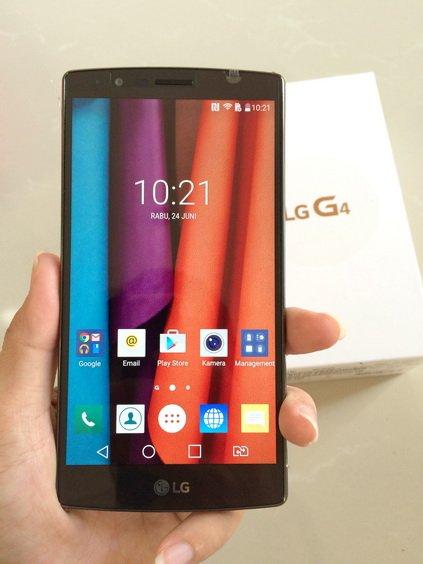 LG G4 100% Original Second Like New Free Ongkir | Bekas Mulus Fullset | Leather Ceramic