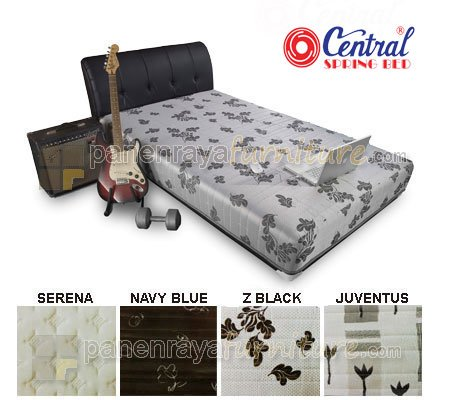 SPRING BED CENTRAL SPORTY SILVER X1 100