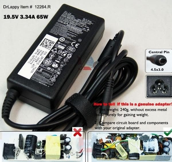 Charger Casan Adaptor Dell Inspiron 14 3458 14-5458 14-5459 14-5558