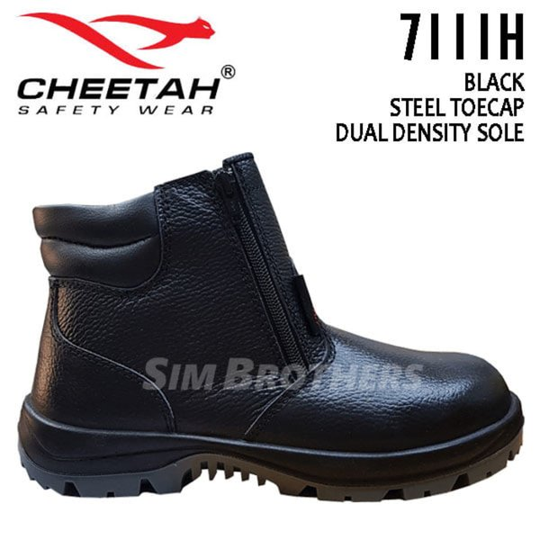 Unik Sepatu Safety Shoes Cheetah 7111H Murah