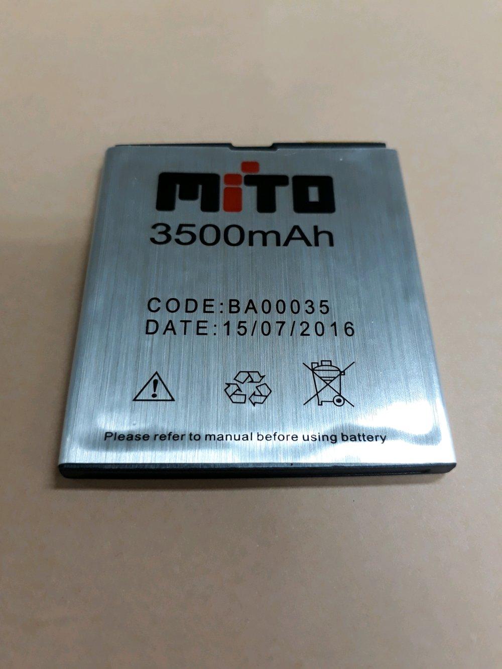 Persamaan Harga Baterai MITO BA-00035 A800