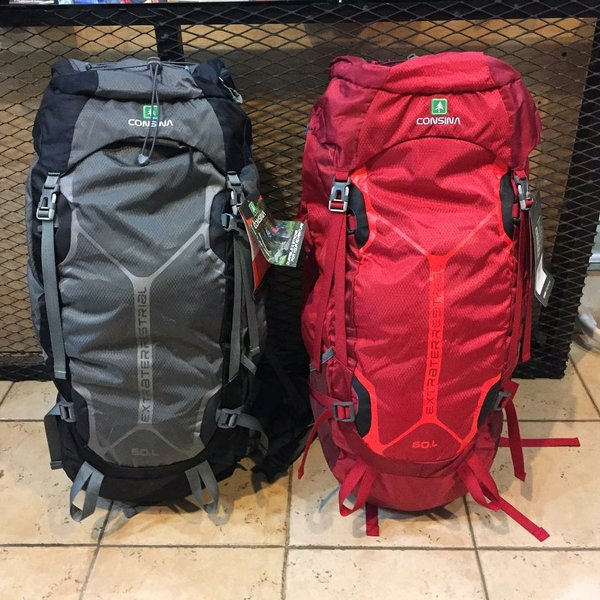 Tas Carrier Consina Extraterestrial 60 Liter Original not Eiger Avtech Pinnacle Rei