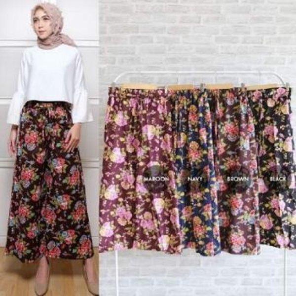 CELANA KULOT MIA PANTS Celana Panjang Fashion Muslim Ukuran Jumbo Baru