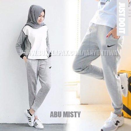 Gambar Untuk Celana Olahraga Muslimah Hijab / Training/ Senam / Jogging / Zumba / Aerobic