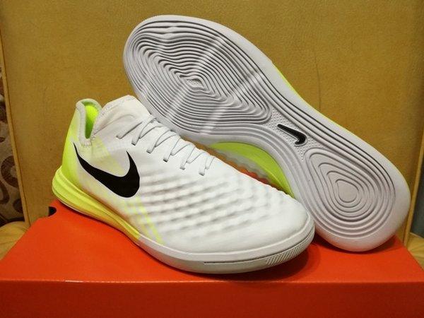 Sepatu Futsal Nike MagistaX Finale II White Volt