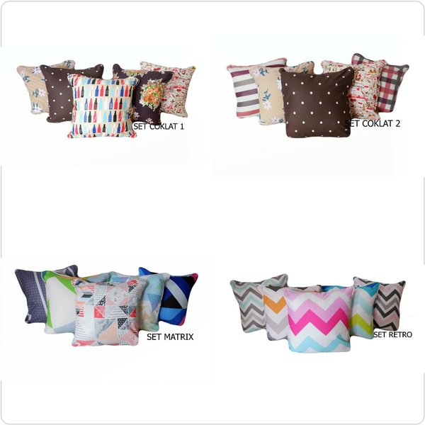 Shafiyyah.Sarban Sarung Bantal Sofa 40x40 - SET 2 -