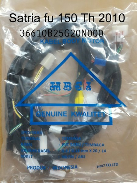 Termurah KABEL BODY SATRIA FU 150 TH 2010 2X