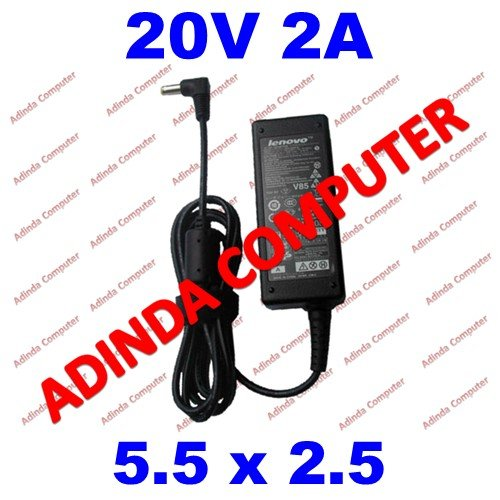 Adaptor Charger Laptop Notebook Netbook Lenovo Ideapad S100 S110 S10 S10-2 S10-3 S205 S206 20v 2a 5.5 2.5 Original