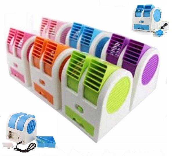 Ac Mini Portable Double Fan