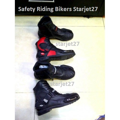 Sepatu Safety Riding Bikers Alpinestar SMX Import