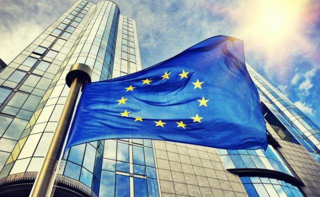 Znalezione obrazy dla zapytania flaga unii europejskiej zdjecia