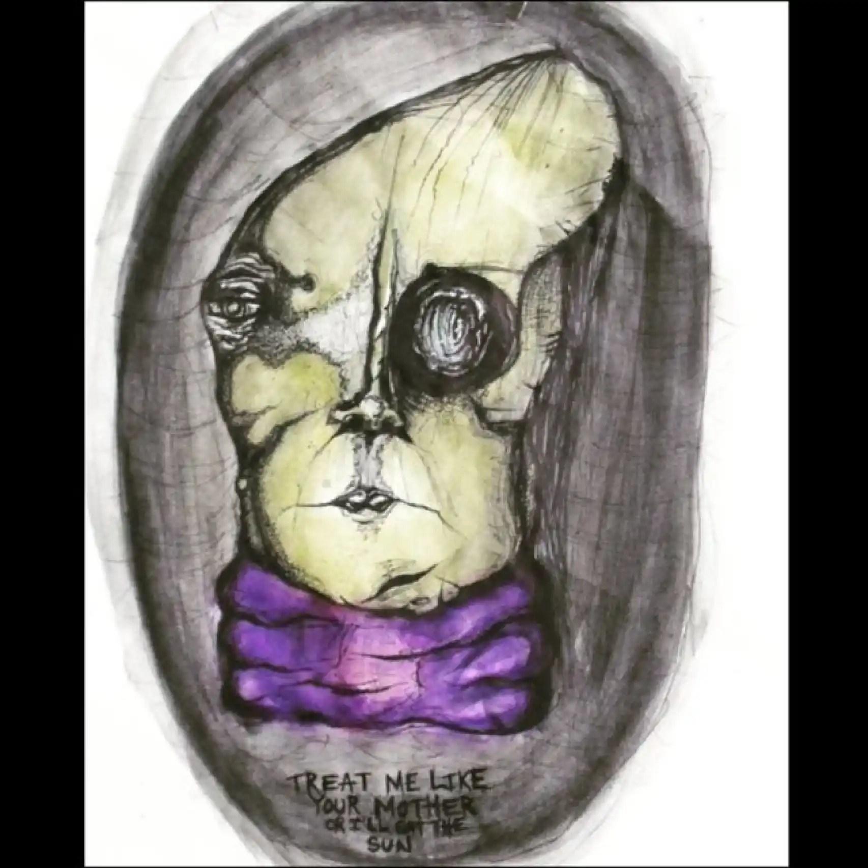 Más misterio en las pinturas de la hija de Cobain.