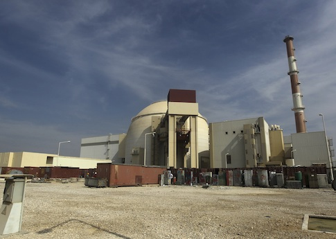 Iran's Bushehr nuclear power plant / AP