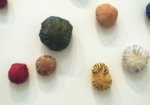 'Lares and Penates' (detail) by Sheila Hicks / Altoon Sultan