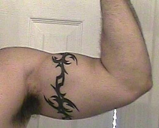 Tribal Armband Tattoo 4