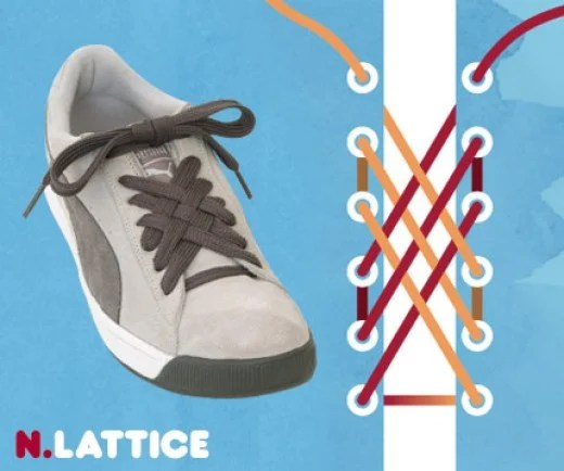 new collection reasonably priced factory outlets Different Ways To Tie a Shoe Lace: The Lattice | Sascha Corti aka ...