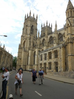 York Minster,home of sacred song and word