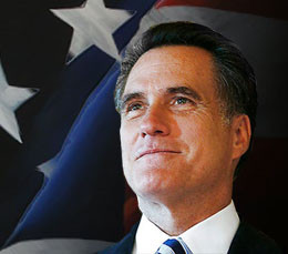 MITT ROMNEY, the next president of the USA