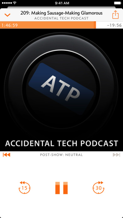 Overcast: Podcast Player Screenshot