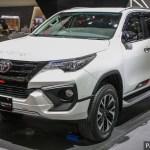 Giias 2017 Toyota Fortuner Trd Sportivo Indo Spec Paultan Org