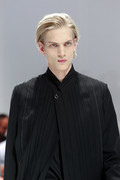 Dior Homme 2012 mens hairstyle trends spring summer collection www izandrew blogspot com izandrew 1