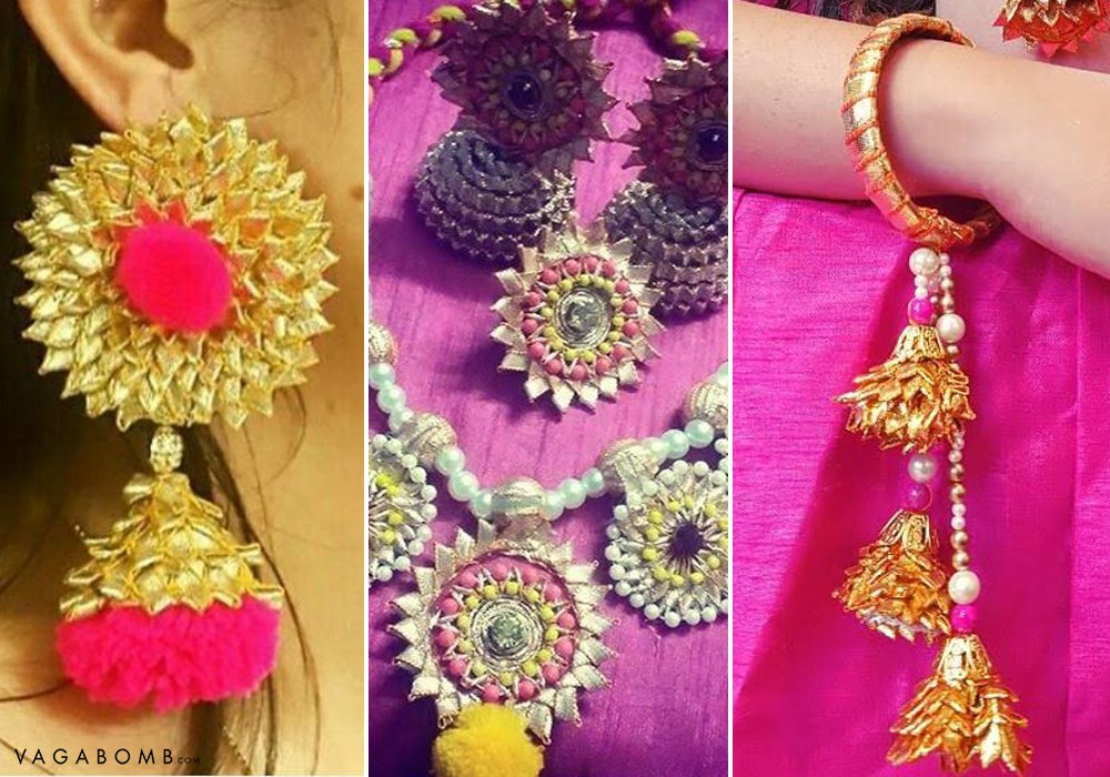 15 Pictures To Prove That Gota Patti Jewellery Is This