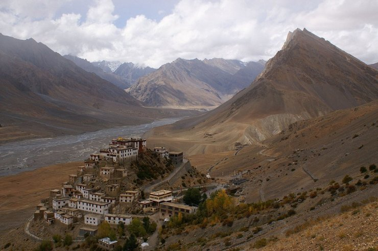 17 Breathtakingly Beautiful Places In India You Must Visit Before You Die key monastery