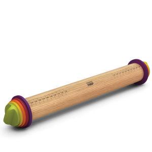 Joseph Joseph Adjustable Rolling Pin Plus - Multi Coloured