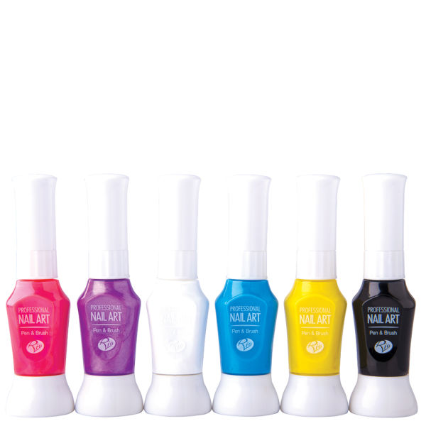 Rio Professional Nail Art Pens Neon Collection Image 2