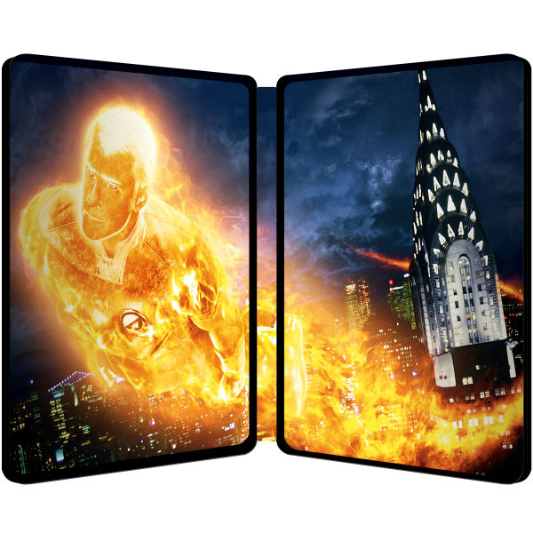 Fantastic Four Limited Edition Steelbook Blu Ray Zavvi