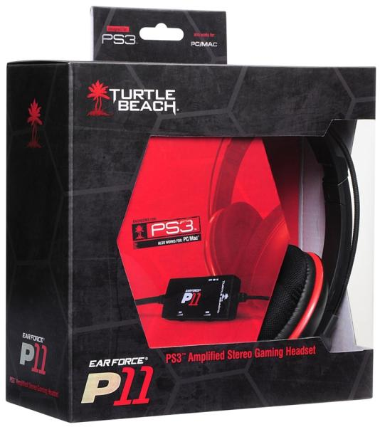 Turtle Beach P11 Earforce Headset PS3PC Games Accessories