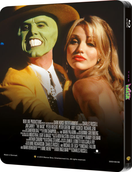 The Mask Zavvi Exclusive Limited Edition Steelbook 2500