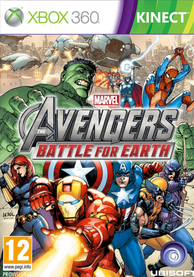 Avengers Battle For Earth Kinect Xbox 360 Zavvi