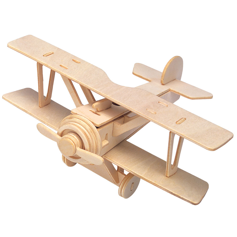 Aeroplane Construction Kit IWOOT