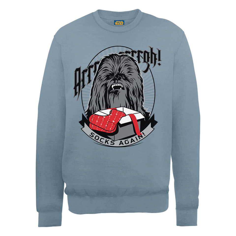 Star Wars Christmas Chewbacca Socks Again Sweatshirt