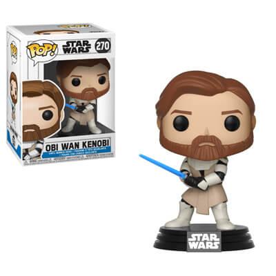 Star Wars - La Guerra dei Cloni - Obi Wan Kenobi Funko Pop! Vinyl Figure