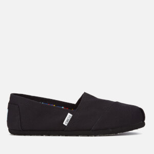 TOMS Women's Core Classics Slip-On Pumps - Black/Black