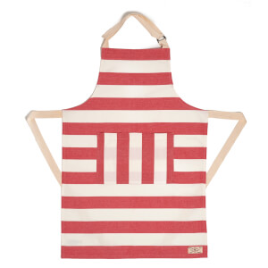 Joules Striped Apron - Red Stripe