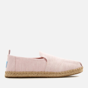 TOMS Women's Deconstructed Alpargata Chambray Espadrilles