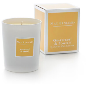 Max Benjamin Grapefruit and Pomelo Scented Glass Candle in Gift Box