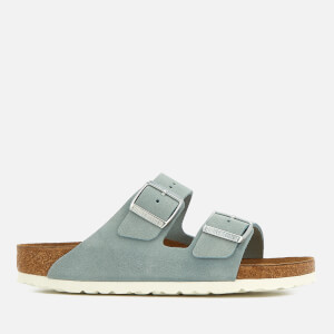 Birkenstock Women's Arizona Slim Fit Suede Double Strap Sandals