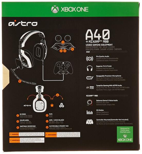 ASTRO A40 Headset MixAmp Halo 5 Edition Black Xbox
